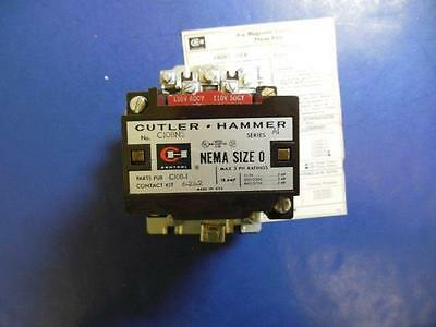 Cutler Hammer C10 BN3A Contactor AC Magnetic-with interlock