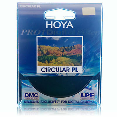 Hoya 62mm Pro1 Digital Circular Polarizing Filter CPL CIR-PL PL 62 mm PRO1D 1D
