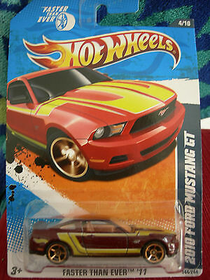 Hot Wheels 2010 Ford Mustang GT Faster Than Ever '11