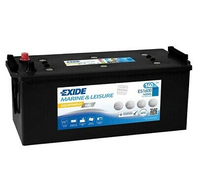 Exide Equipment GEL ES1600 140Ah Solar, Camping, Boot, Marine - G140 *NEU*