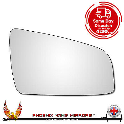 Right Hand Driver Side Vauxhall Zafira B 2005-2009 Convex Wing Door Mirror Glass