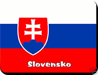 Slovakian  Flag Mousemat   Free Personalisation