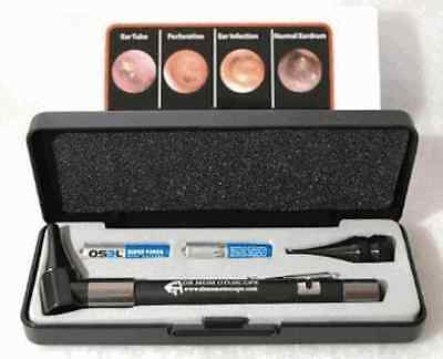 UPGRADED HARD CASE - Doctor Mom Original Pocket Otoscope