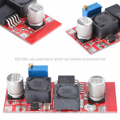 4 Pcs Dc Boost Buck Adjustable Step-Up/down Red Xl6009 Voltage Boost Modules
