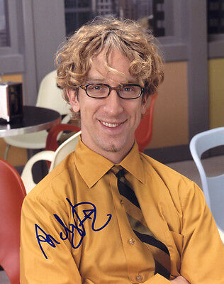 ANDY DICK In-Person Signed 8X10 Color Photo with a SuperStars Gallery (SSG) COA