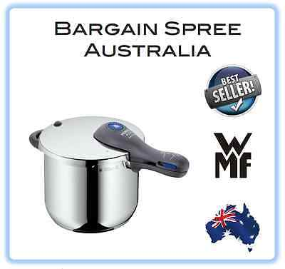 TOP RANGE WMF Perfect Plus 18/10 Stainless Steel Pressure Cooker Set 6.5L