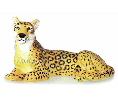 AAA 96703 Female Leopard Lying Model Animal Toy Figurine Replica - NIP