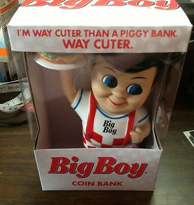 Collectible Frisch's, Bob's, Big Boy Bank with hamburger New 2013 Edition