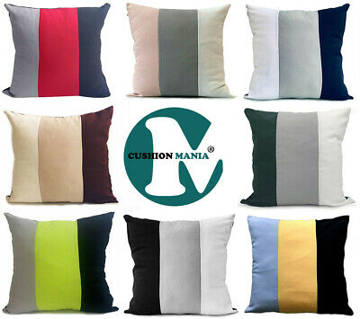 large 3 tone cushions + covers or covers only in 3 lovely colours