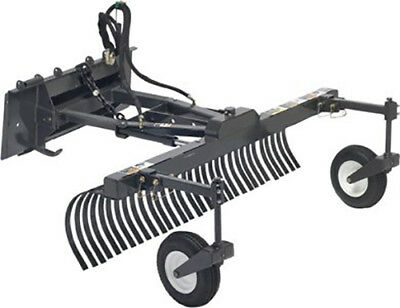 "Skid Steer York Grading Rake Attachment 82"" Wide"