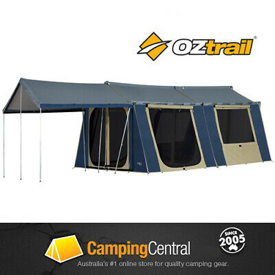 OZTRAIL 12 x 15 CANVAS CABIN FAMILY TENT *BRAND NEW*