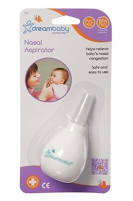 New Dreambaby Nasal Aspirator relieves congestion blocked noses Baby Dream