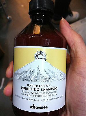 Davines Naturaltech Purifying Shampoo, With Oily Or Dry Dandruff 8.45Oz / 250Ml