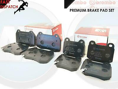 FOR NISSAN 350z 350 3.5 FAIRLADY 2003- FRONT REAR BREMBO BRAKE PAD PADS