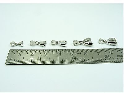 1 x 925 STERLING SILVER Stamped BAIL PINCH Clasp ~10mm/ 13mm/ 14mm/ 16mm/ 20mm~