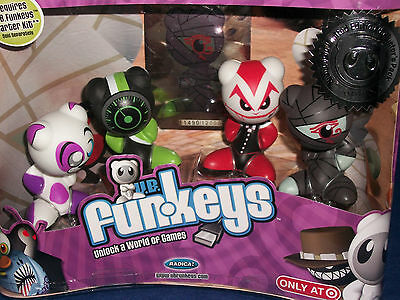 Funkeys Dream State Very Rare Limited Edition 4 pack NIP TARGET Exclusive