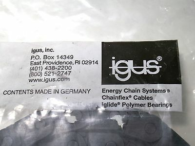 Igus 07-06-038-0 Energy Chain Series 07 Length 2.24 Ft Nib Series 07 'zipper'