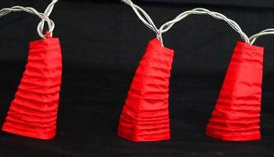 20 Red Chinese Paper Lantern Fairy Lights Party Decoration Gift Xmas New Year