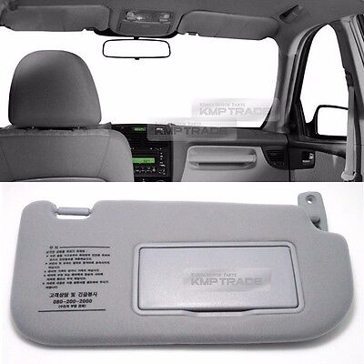 OEM Interior Hand Sun Visor Shade RH Gray for KIA 2005 - 2008 2009 2010 Sportage