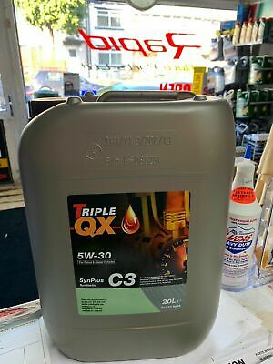 20Ltr Drum 5W30 Fully Synthetic Motor Engine Oil Audi Bmw Vw Longlife