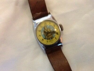 authentic vintage davy crockett wrist watch