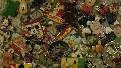 Lot Of 10 Random Disney Pins.  100% Real Guaranteed!! No Scrappers Ever!!