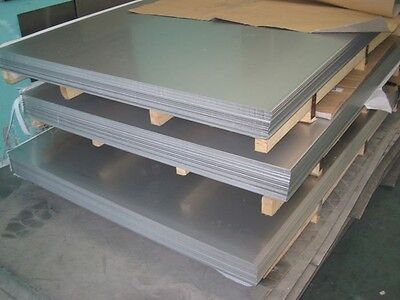 "4130 Chromoly Alloy - Normalized Steel Sheet / Plate - 1/8"" .125 Thick 6"" X 36"""
