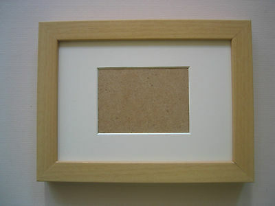 Beech Aceo/School Picture 3.5X2.5 Inch Picture Frame With Ivory Mount