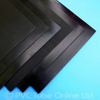 Neoprene Rubber Sheet –Solid Black Smooth–1mm, 1.5mm, 2mm, 3mm, 4mm, 5.5mm & 6mm