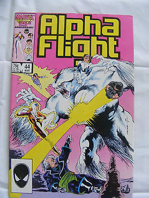 Alpha Flight # 44 Mar 87 Marvel Comics