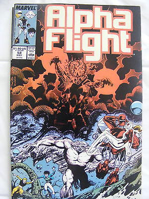Alpha Flight # 58 May 88 Marvel Comics