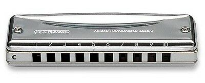 Harmonica Suzuki MR350 Promaster Ten Hole Diatonic Harp