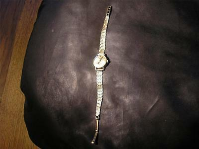 Beautiful Vintage Ladies LONGINES Watch, & 9ct Gold Strap, Birm,1972