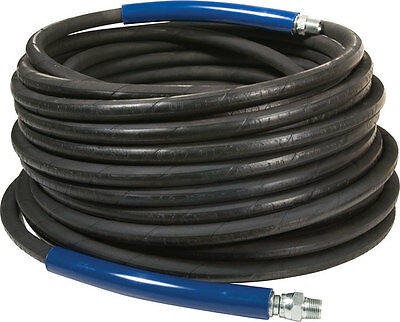"100' FT High Pressure Hose 3/8 x 100"" 4,000 PSI - Pressure Washer - INDUSTRIAL"