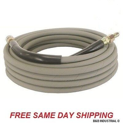 Non-Marking Pressure Washer Hose - 4000 PSI 50 ft. Length (W/O Ends) 50' Gray