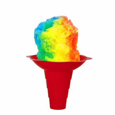 Flower Cups for Serving Shaved Ice or Snow Cones 12 OZ Large, Case of 400
