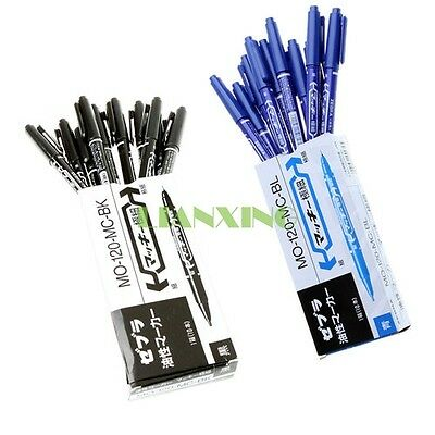 10x Dual-Tip Tattoo Skin Marker Piercing Marking Pen Scribe Tool Supply Surgical