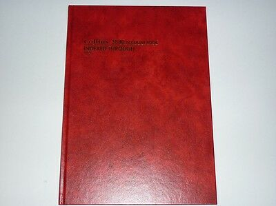 Collins 3880 Account Book Indexed Through 10926 NEW index