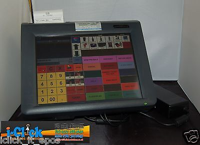 Partner Tech PT-6212 Compact all in one Fanless EPOS & Fidelity Gpos TouchScreen
