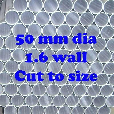 50mm 1.6 OS Dia Cut To Size Galvanized Steel Round Tube Pipe Fence Post Cheap!!!