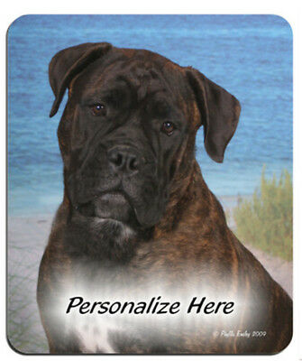 Bullmastiff    brindle color    Personalized    Mouse Pad