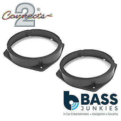 Connects2 CT25FT04 Fiat Idea 05 ON Car Speaker Fitting Adapter Front/Rear 165MM