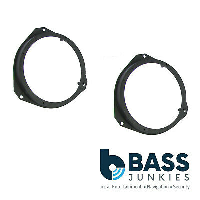 Connects2 CT25FT07 Fiat Punto 06 ON Car Speaker Fitting Adapter Front Door 165MM