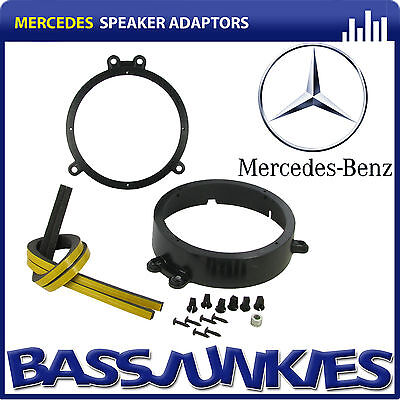 CT25MC12 Mercedes C Class 2000-2007 Car Speaker Fitting Adapter Front 165MM