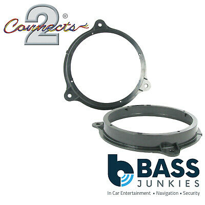 CT25NS01 Nissan Micra 2003 ON Car Speaker Fitting Adaptor Front/Rear 165MM