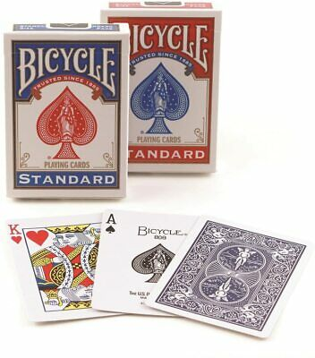 2 Decks Bicycle US Standard Playing Cards Red&Blue Made In USA