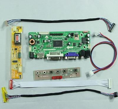 HDMI VGA DVI Audio lcd controller board for 14.1inch 15inch 1024x768 lcd panel