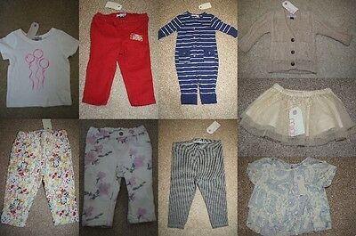 TOPSHOP MINI Baby Jeans 3-6 6-12 months T-shirt Top 12-18 months BNWT (AB)