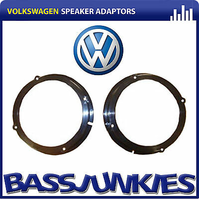 Connects2 CT25VW01 Volkswagen Polo 2001 ON Car Speaker Adaptors Front/Rear 165MM