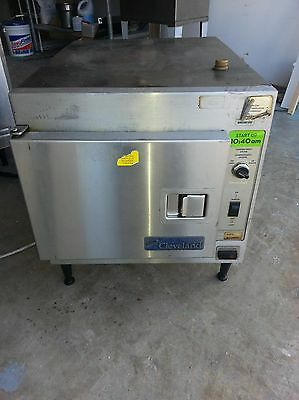 Cleveland 21CET8 3-Pan SteamCraft Electric Countertop Steamer